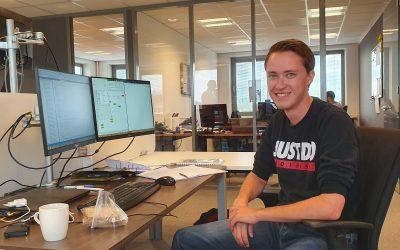Nieuwe medewerker: Stefano de Koning