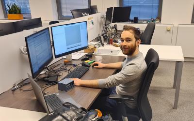 Maak kennis met onze nieuwe collega: Niels van den Langenberg